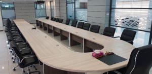 table de reunion 2 mdf